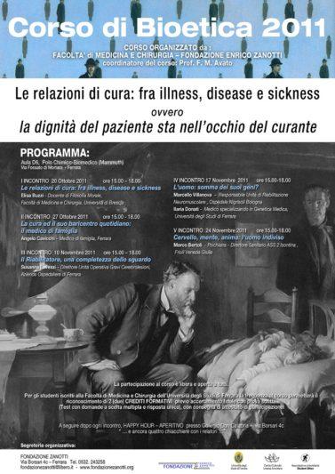 Corso di Bioetica 2011/2012
