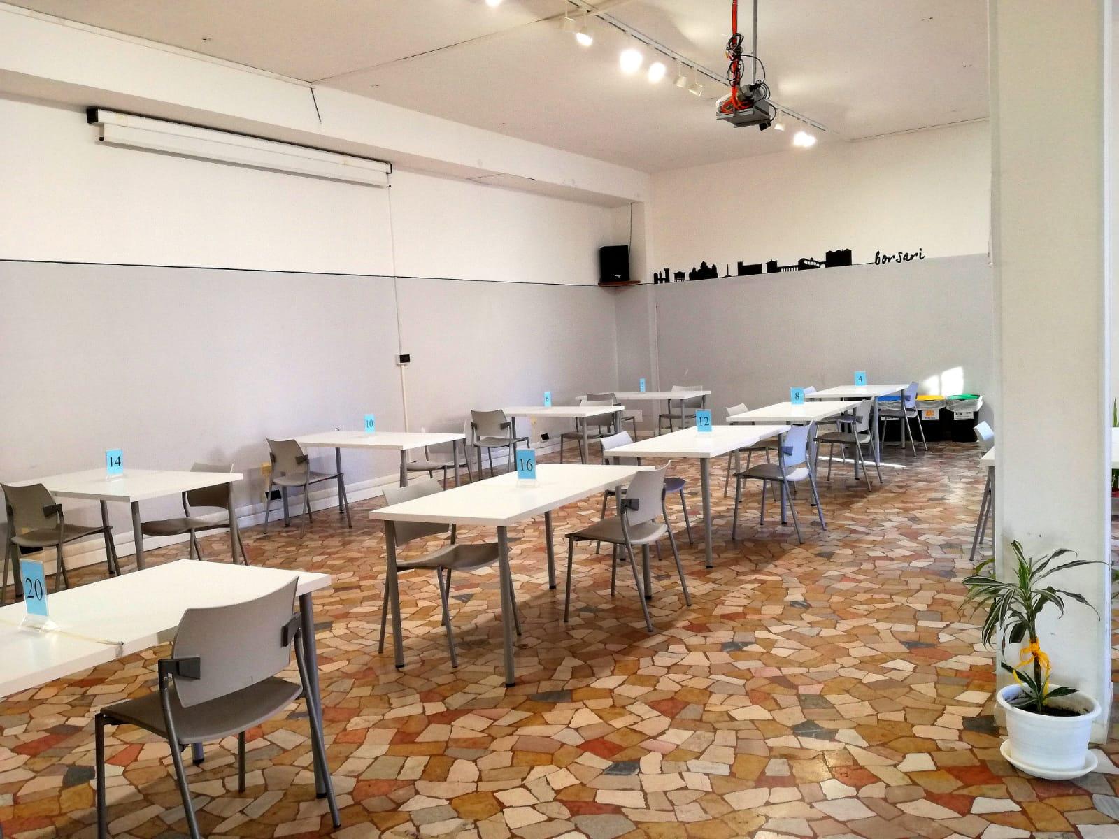Riapertura Sala Studio Gennaio 2021