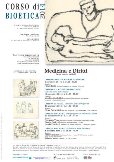 Corso di Bioetica 2014/2015