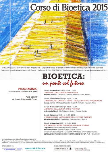 Corso di Bioetica 2015/2016