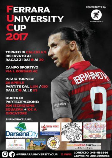FERRARA UNIVERSITY CUP 2017