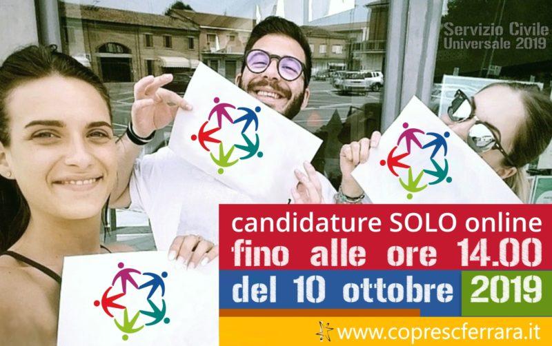Apertura Nuovo Bando Servizio Civile Universale 2019